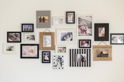 creer un mur de photos deco lefeuvre immo